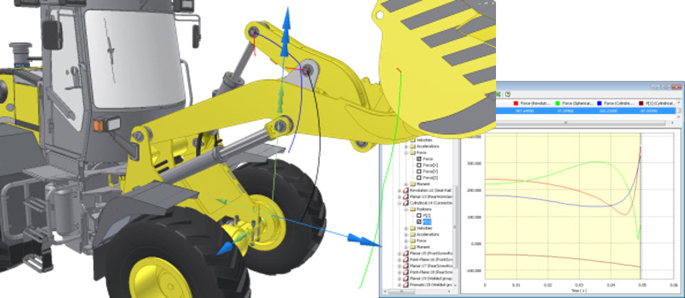 Inventor-Dynamic Simulation