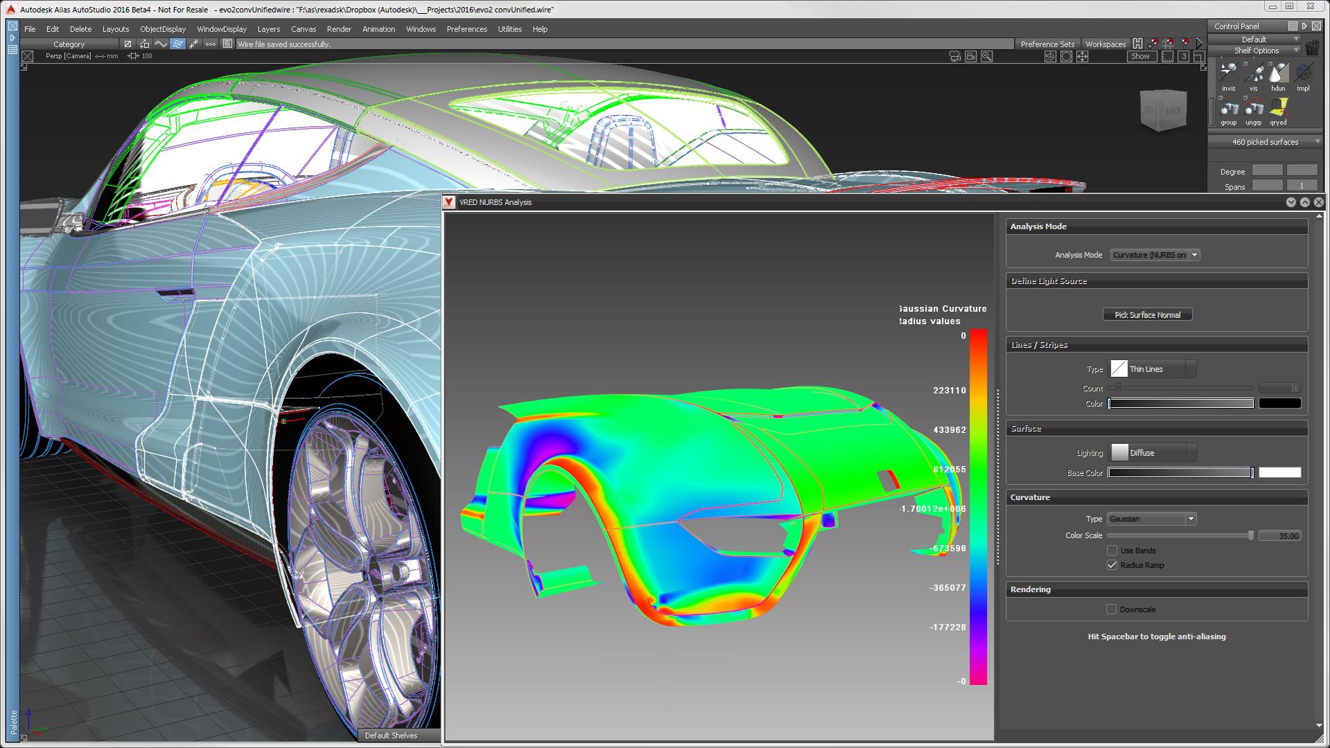 Alias-Design evaluation