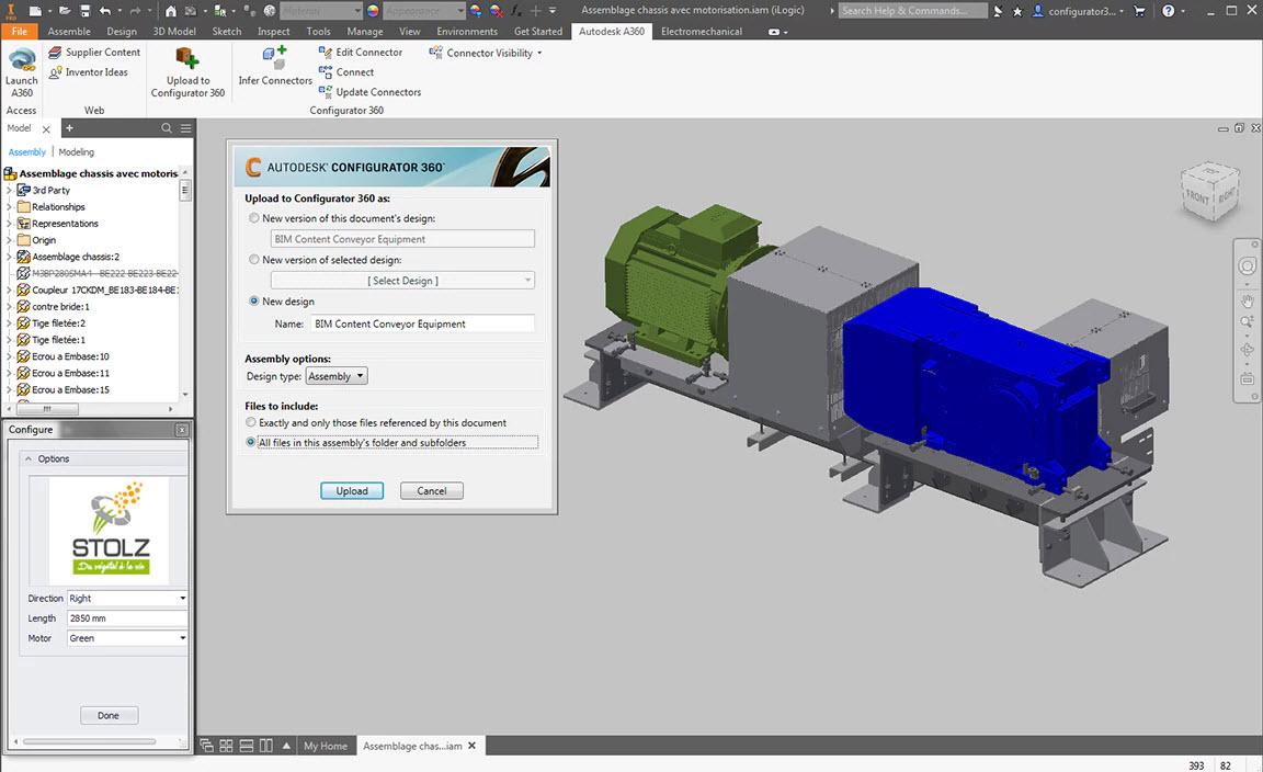 Configurator 360-Inventor integration